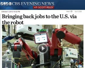 Rethink Robotics on CBS News
