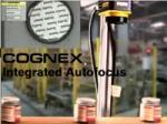 Cognex Integrated Autofocus