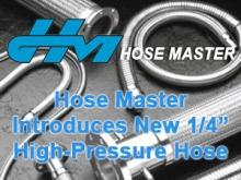 """Hose Master 1/4"""" High Pressure Hose"""